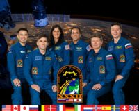 International Space Station Expedition 32 Official Crew Portrait